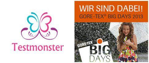 """Testmonster ist Markenbotschafter für GORE-TEX – das """"BIG DAYS"""" Projekt….."""