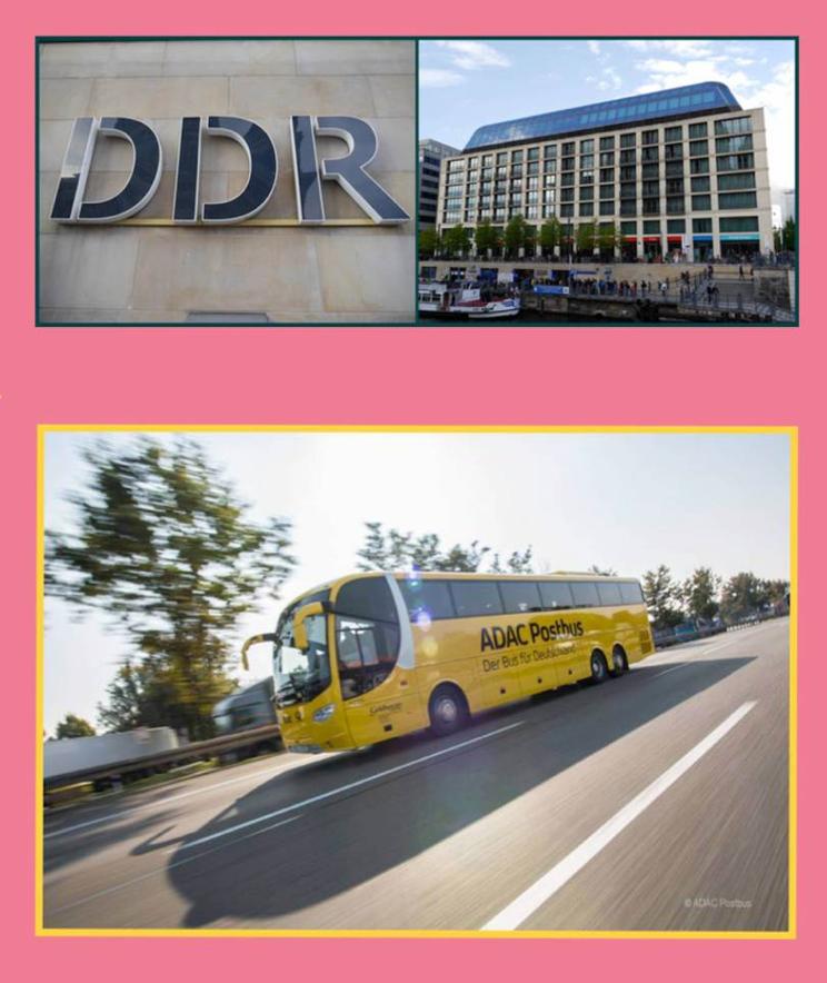 Testmonster ADAC Postbus und DDR Museum