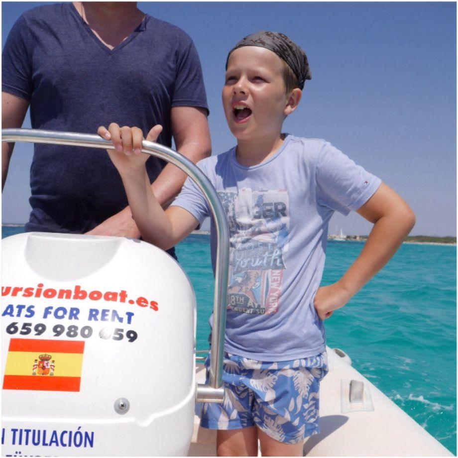 Mallorca……Ausflug mit dem Boot….