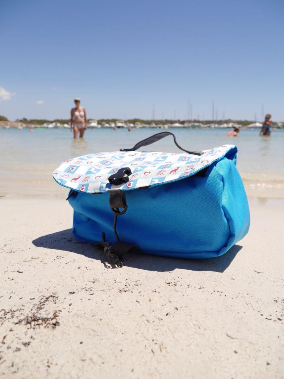 Grüezi bag – Washbag….auf Mallorca….