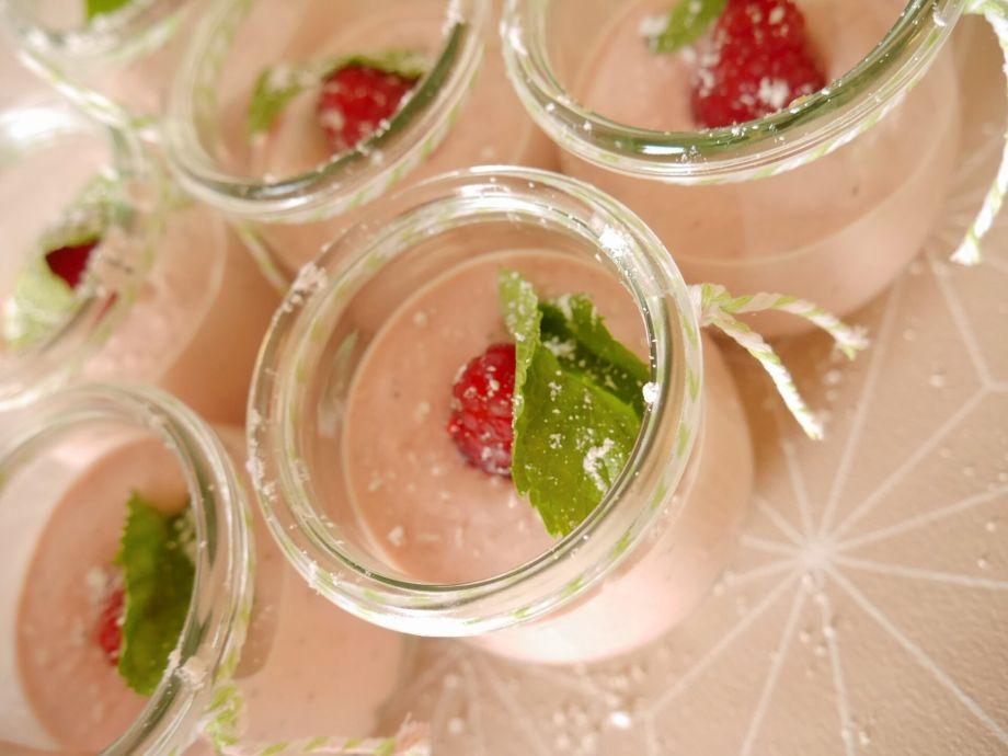 Tafelgut & pink cheesecake