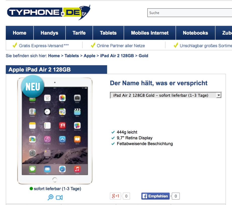Typhone…Handys, Tablets & alle Tarife