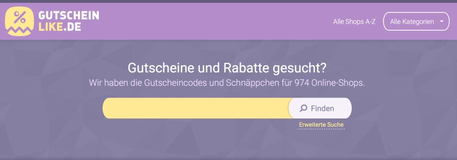 Gutscheinlike.de