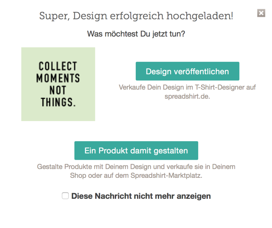 dreiraumhaus Spreadshirt Onlineshop