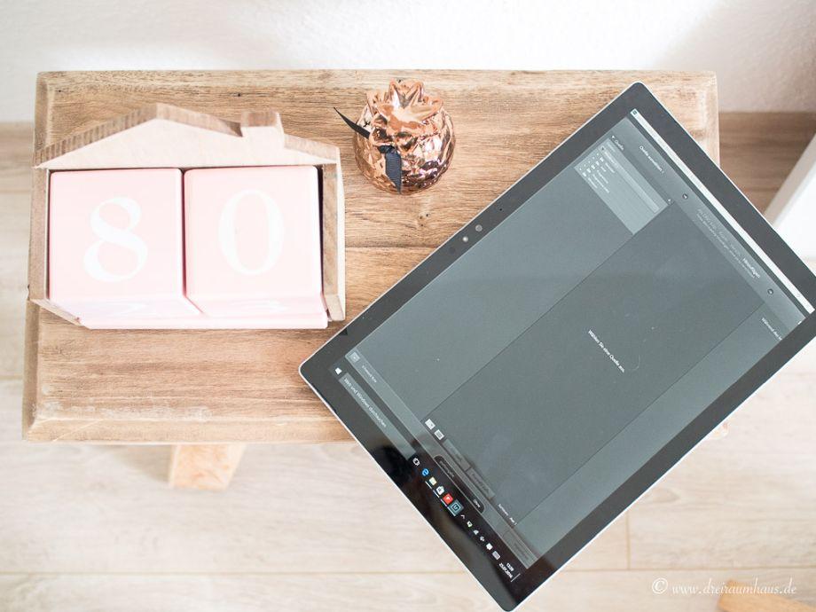 Tablet fotobearbeitung