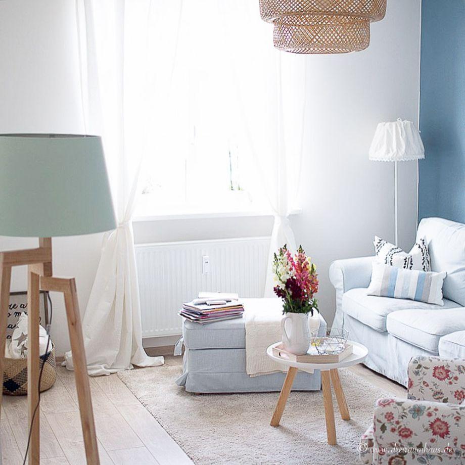 Dreiraumhaus Wohnzimmer Farbgestaltung Wohnung Altbau Living Ikea Hittarp  Interieur Interior Schoener Wohnen 24