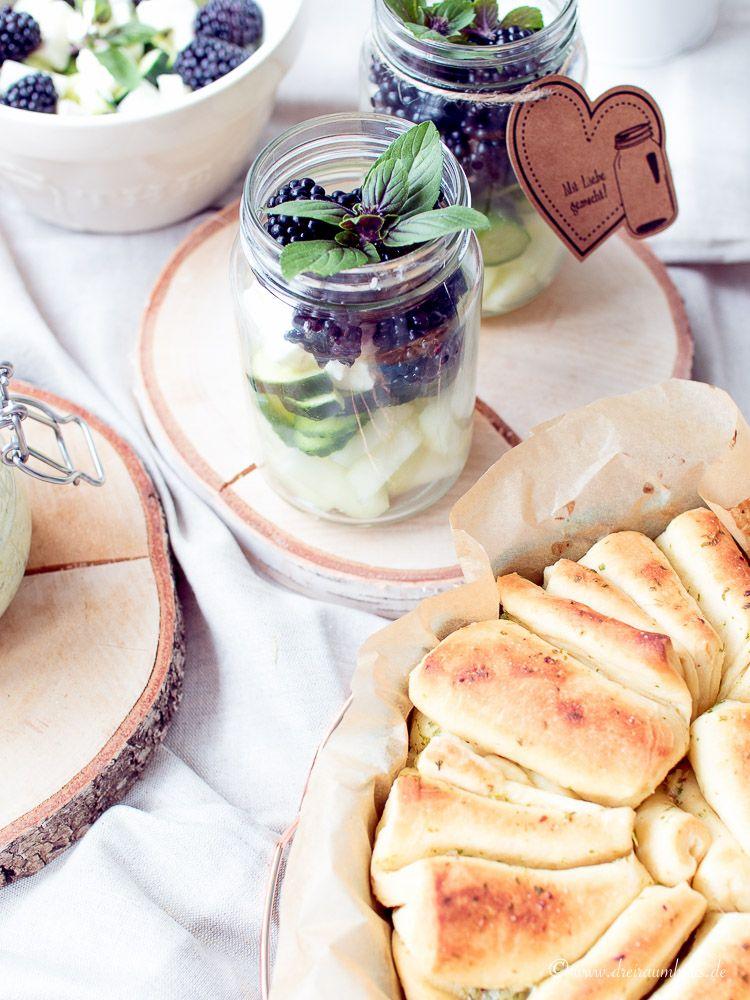 Kräuterfaltenbrot…ein kulinarischer Wochenrückblick…