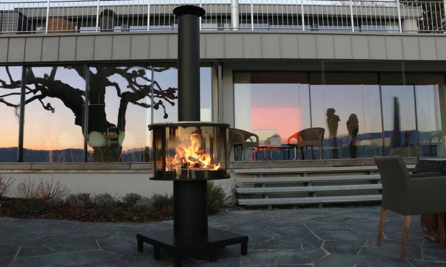 dreiraumhaus ruegg surprise outdoor feuerstelle lagerfeuer grill4