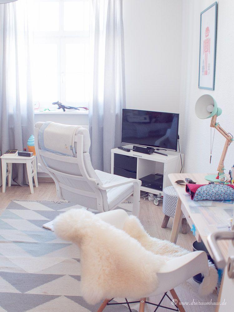 dreiraumhaus wohnung altbau living ikea hittarp interieur interior schoener wohnen-24