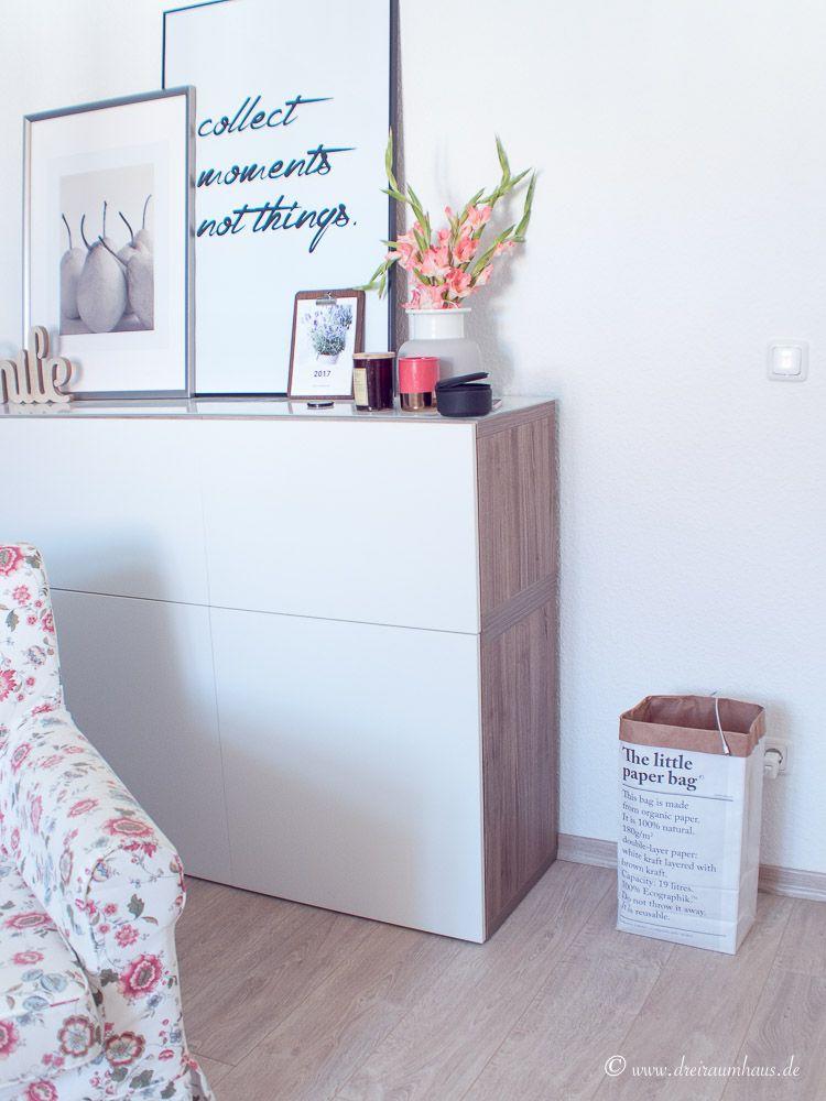 dreiraumhaus wohnung altbau living ikea hittarp interieur interior schoener wohnen-16