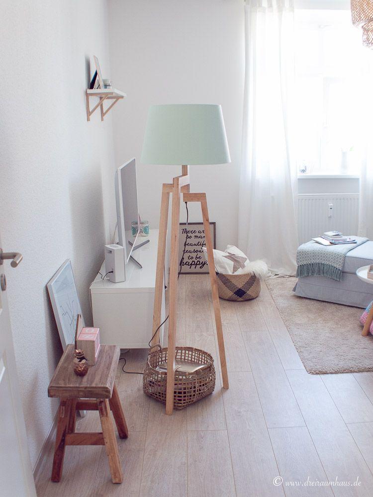 Dreiraumhaus Wohnung Altbau Living Ikea Hittarp Interieur Interior
