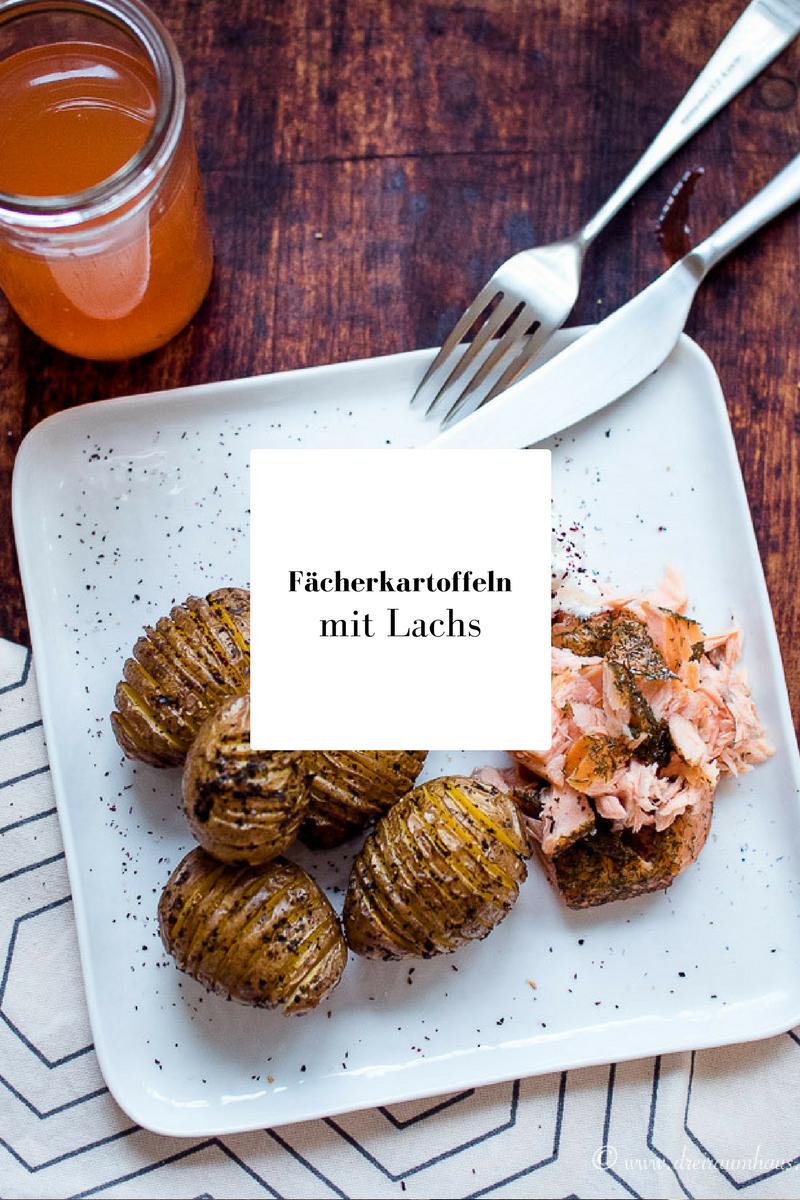 dreiraumhaus food rezept fächerkartoffeln mit Lachs