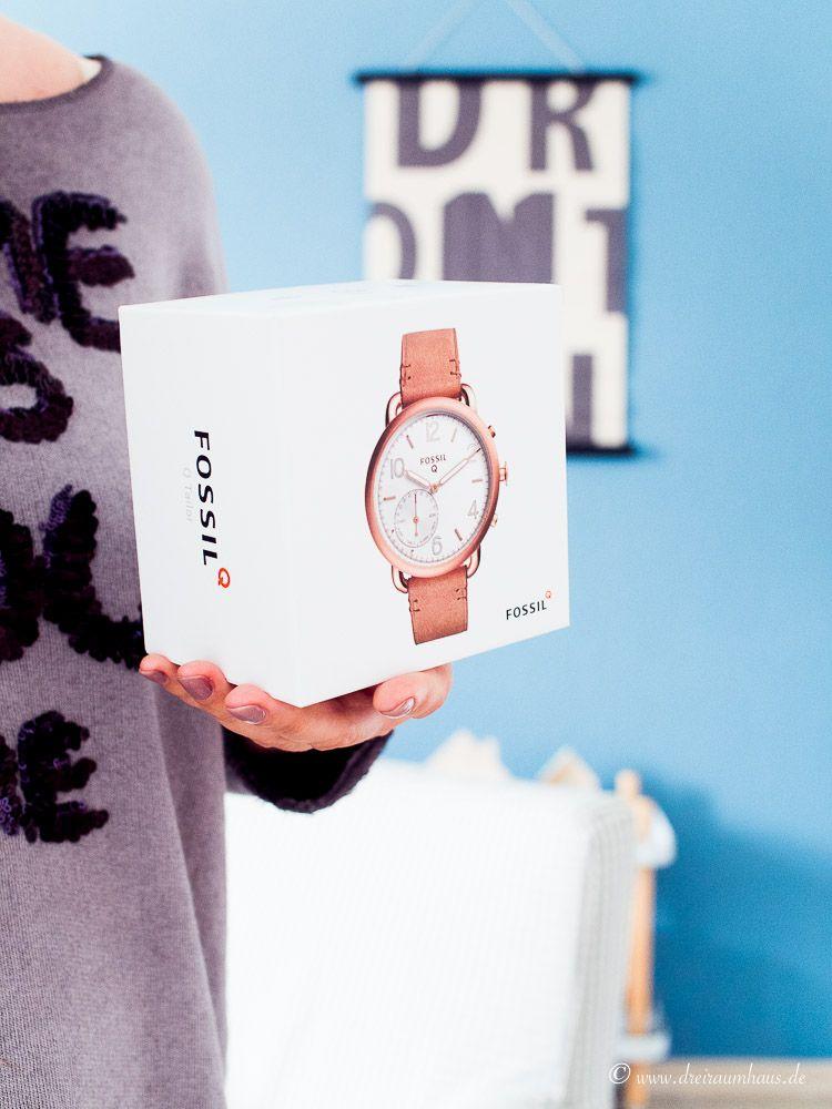 Fit im Alltag mit der Fossil Q Hybrid Smartwatch...
