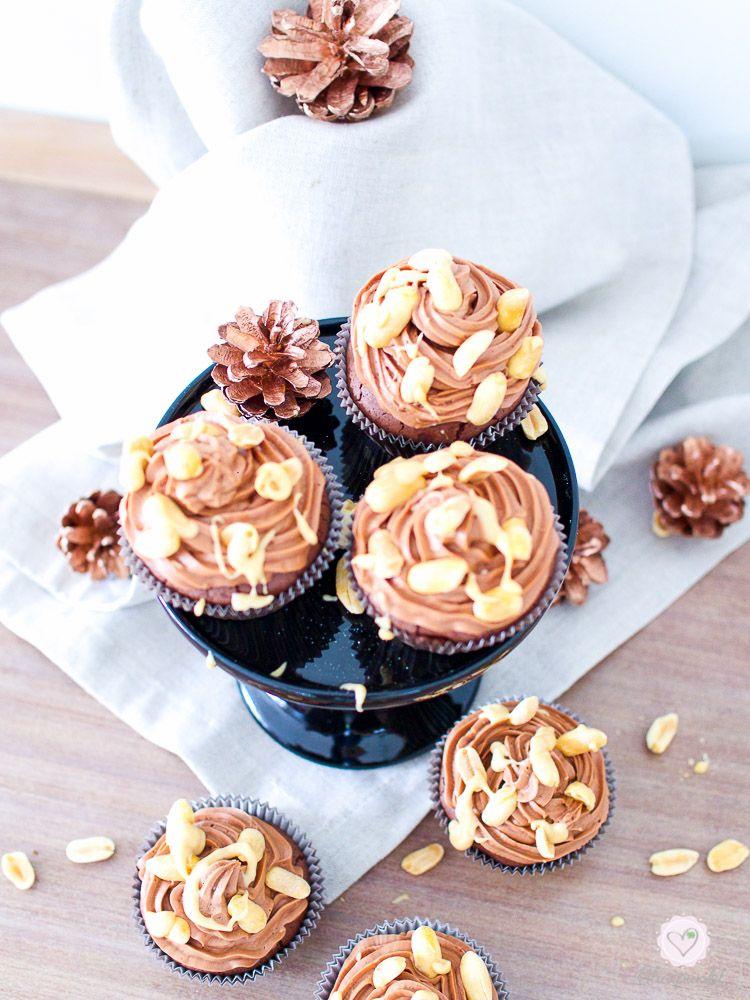YUMMIE! Triple Schoko-Cupcakes im Freitagsmampf…