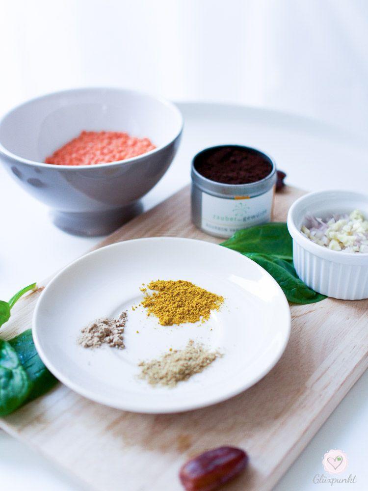 One Pot Spinatlinsen - heute ein gesundes Rezept im Montagsmampf!