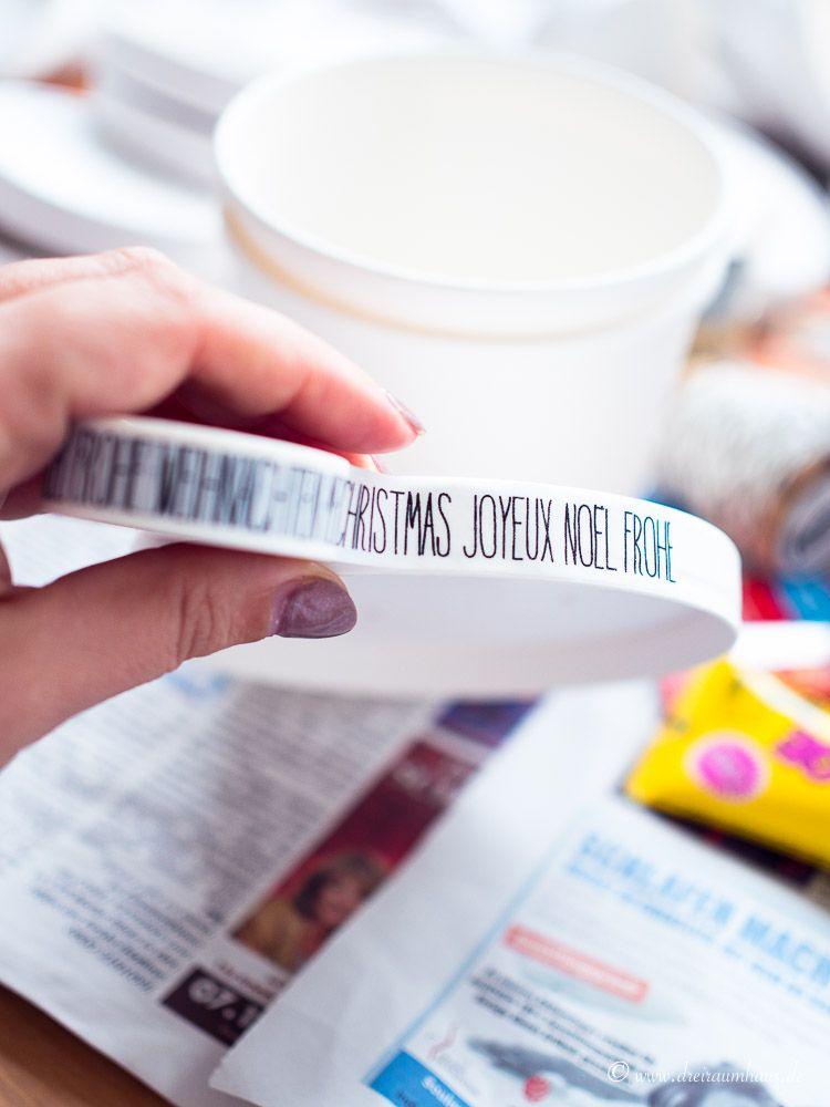 Wie Ihr einen Adventskalender aus Pappbechern bastelt? Hier kommt eine DIY Anleitung für euch, die in knapp 30 Minuten umsetzbar ist. Viel Spaß!