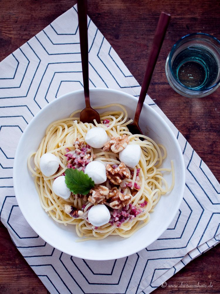 Die leckersten Spaghetti Gorgonzola im YUMMIE! Freitagsmampf…