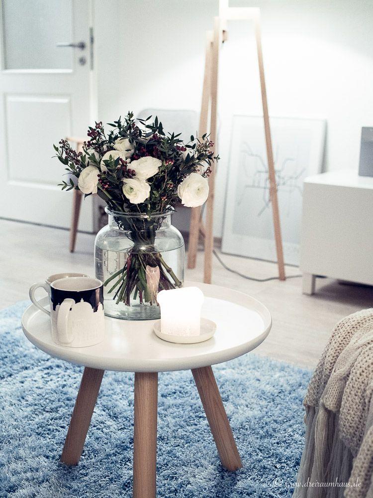 Ich sorge für FRÜHLINTER im dreiraumhaus - living altbau wohnzimmer deko dekoration lifestyleblog leipzig leipzigblog