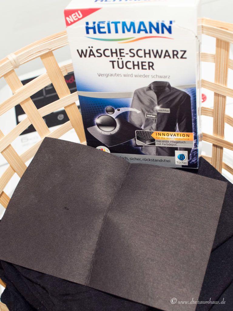 dreiraumhaus heitmann wäsche schwarz tücher Wäsche-Schwarz-Tücher
