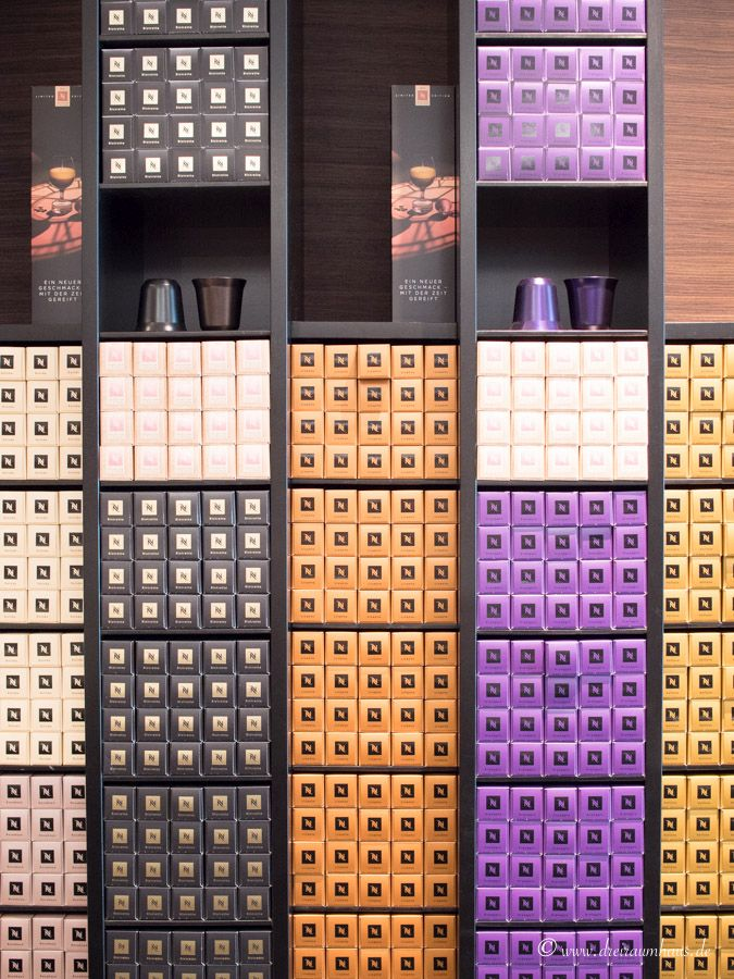 dreiraumhaus bei Nespresso in duesseldorf und beim Nespresso Recycling der Alukapseln