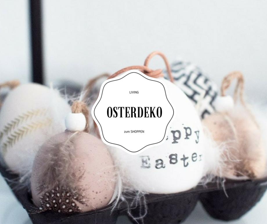 LIVING: Update - die schönste Osterdeko für Menschen mit wenig Zeit!