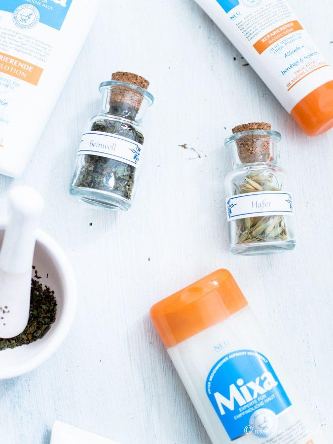 Endlich gibt es die Creme und Hautpflege von Mixa auch in den Drogeriemärkten von Deutschland. Ich habe die ansprechende Pflegelinie mal probiert!