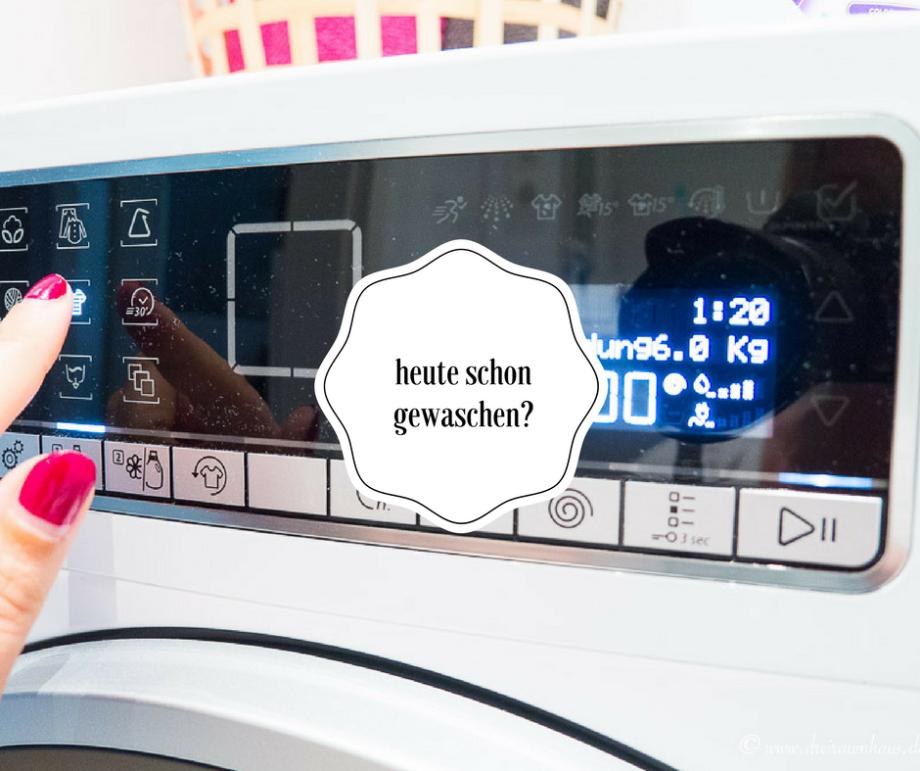 Warum Waschmaschinen hip sind und warum Ihr mit mir shoppen und sparen könnt?!