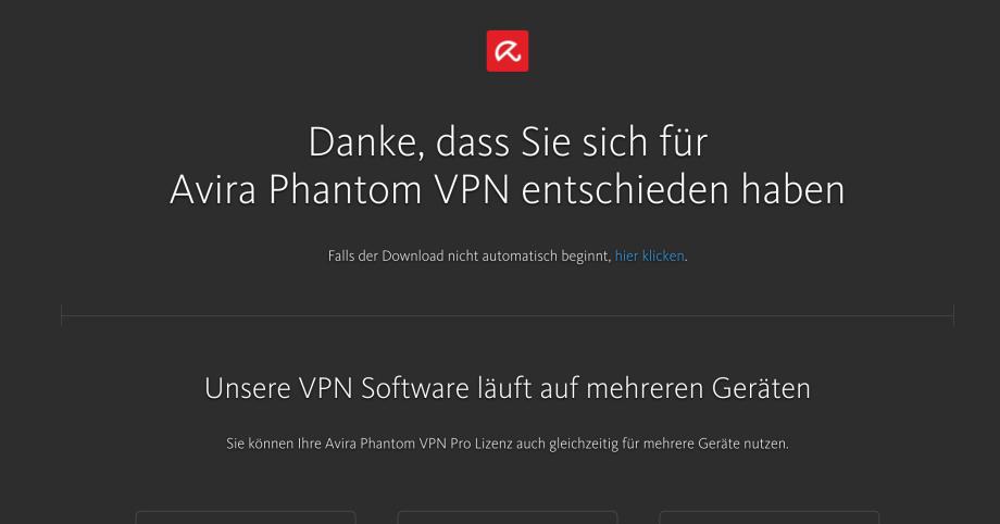 Bisher war ich echt nachlässig...Avira Phantom VPN! Schützt Dich und mich!