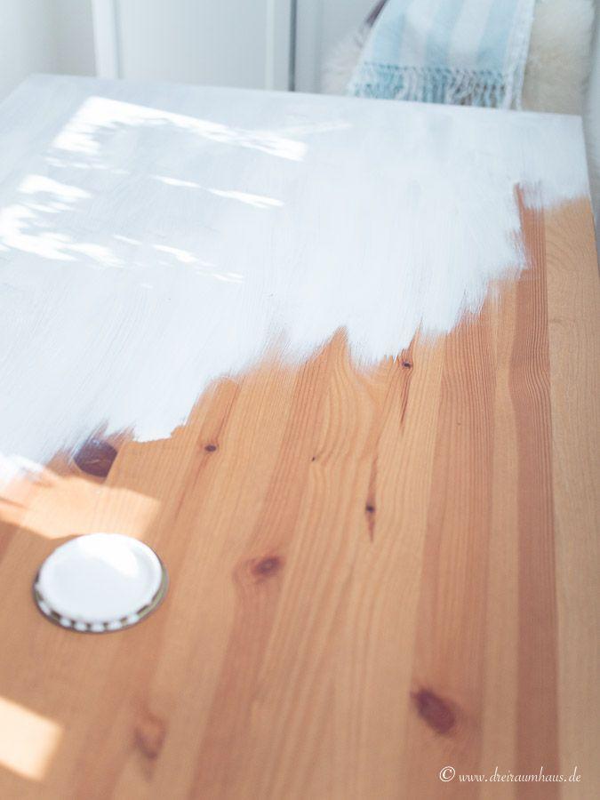 Etwas Neues genug Tisch streichen ohne schleifen? Ein DIY mit Farrow & Ball! @UK_52