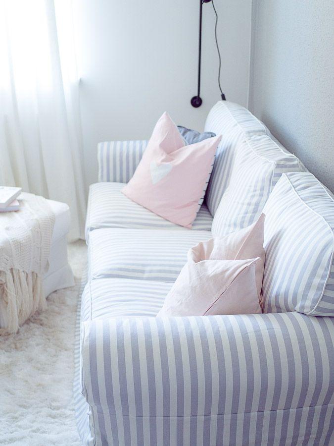 LIVING: Ein Update zum Wohnzimmer mit Farrow & Ball und neue Sofabezüge mit Bemz Design...