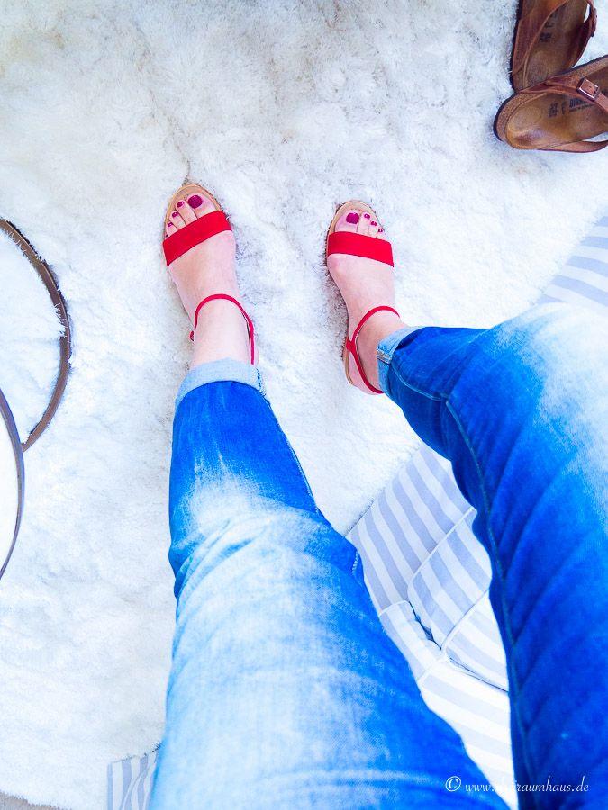Warum ich Schuhe kaufe, wenn die Hose kneift...
