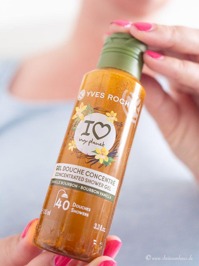 Yves Rocher I love my planet! Ich dusche konzentriert und grün mit Yves Rocher und ich habe ein #gewinnspiel für Euch!