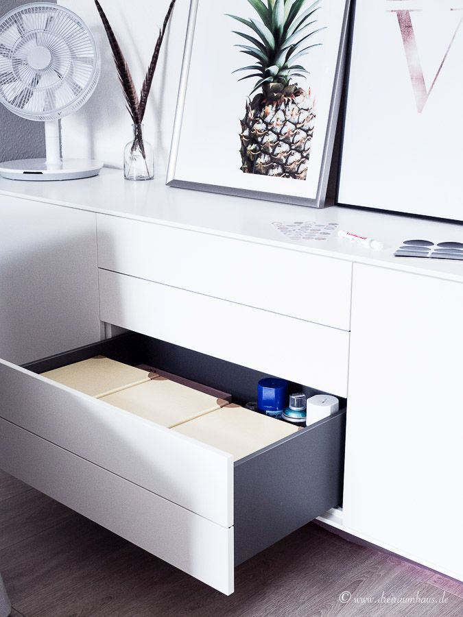 ein boconcept sideboard wie organisiere ich den stauraum richtig. Black Bedroom Furniture Sets. Home Design Ideas