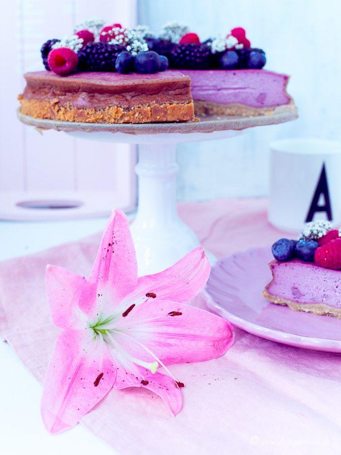 Ich verteile Glück & Hüftgold mit diesem leckersten Beeren-Cheesecake Rezept...