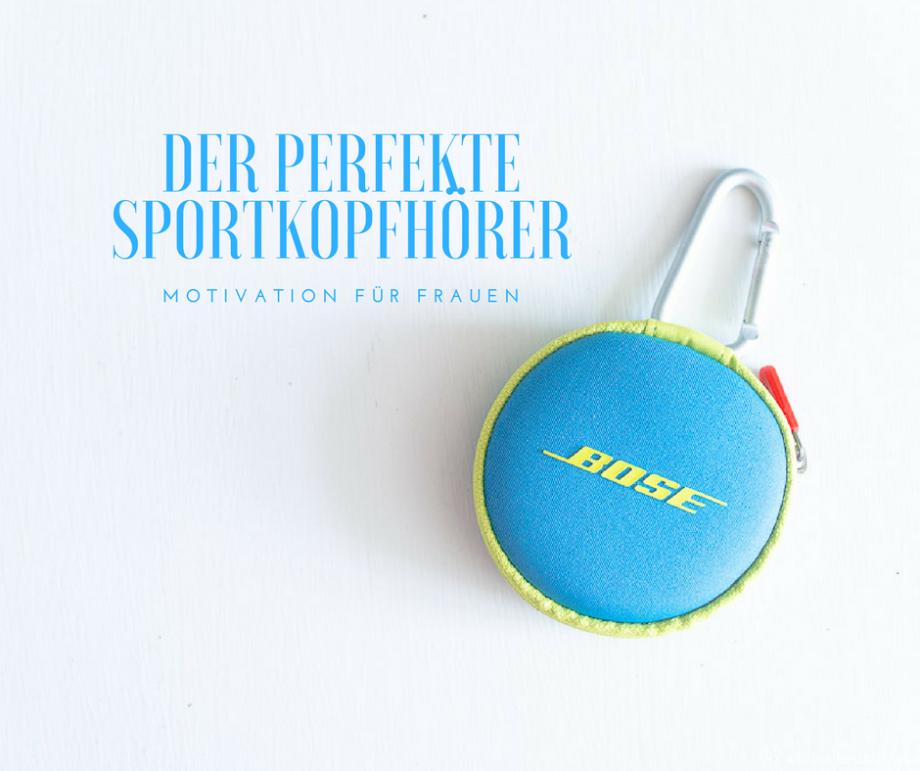 Motivation für Frauen – ein Tagebuch: Die richtigen Kopfhörer ersetzen manchmal einen Personal Trainer! Ein Shopping-Tipp!