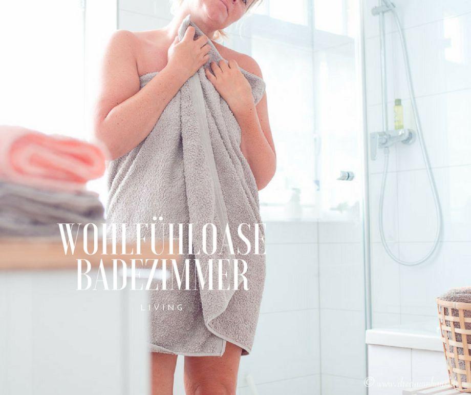LIVING: Wie dekoriere ich ein Bad zeitlos, dezent und schön? Zum Beispiel mit den Superwuschel Handtüchern von MÖVE Frottana! #neuewohnungteil3