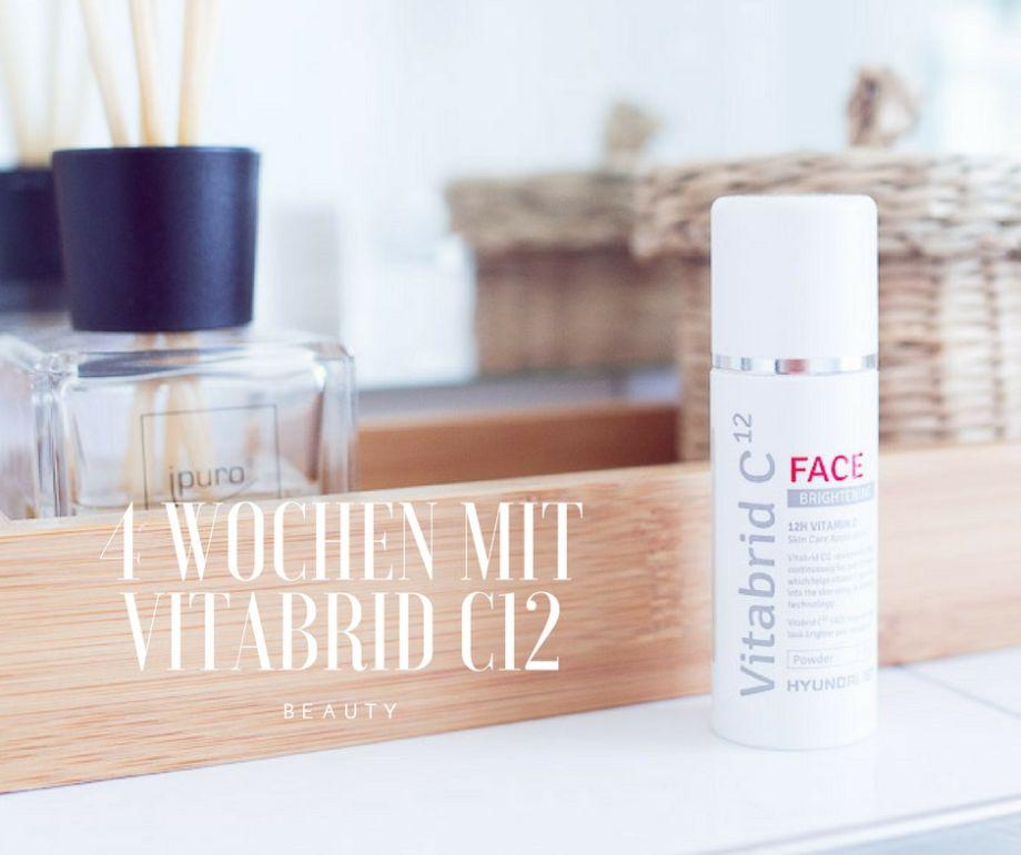 BEAUTY: Vitabrid C12 FACE BRIGHTENING und meine 4 Testwochen…das Ergebnis!