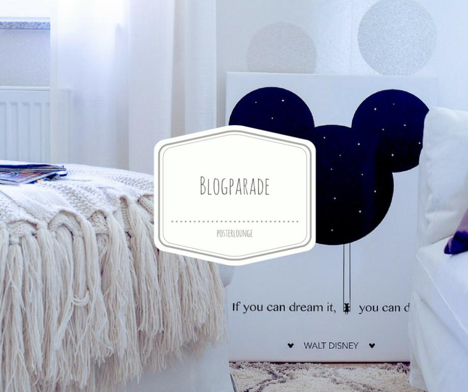 BLOGPARADE: Verschönert Euer Zuhause mit Bildern von Posterlounge! Es winken fröhlich 100 Euro Gutscheine...