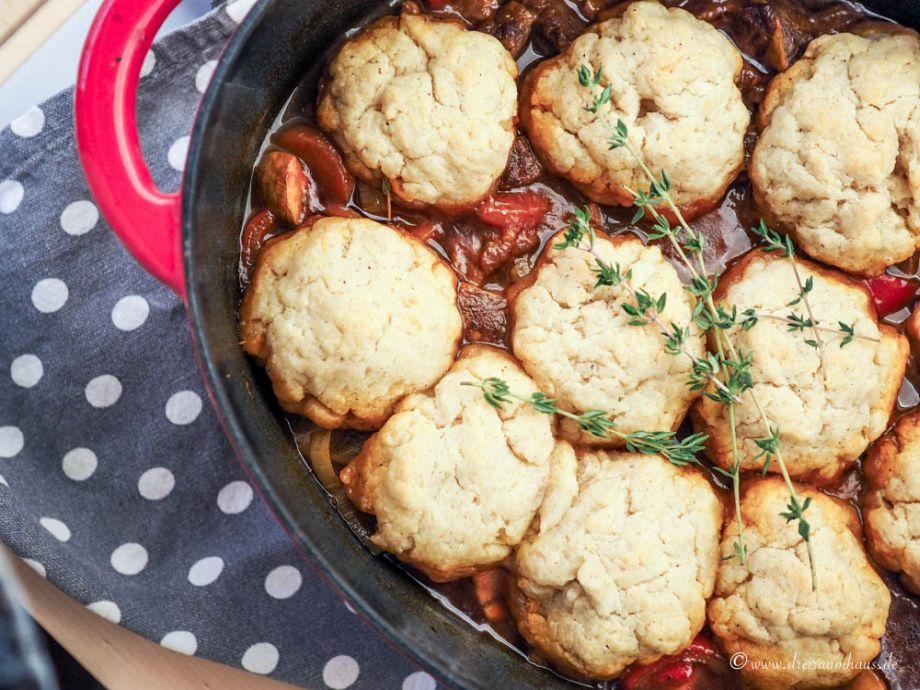 FOOD: Irisches Gulasch mit Parmesan Dumplings...Soulfood für den Herbst!