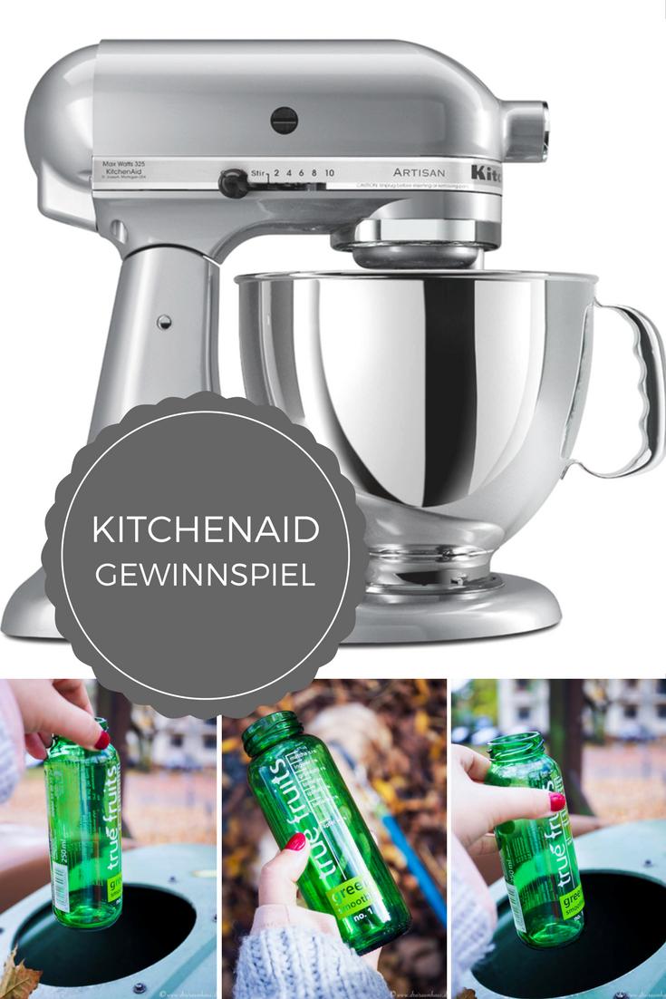 Raus in den Herbst! Recycelt mit mir gemeinsam Glas und gewinnt eine KitchenAid Küchenmaschine!
