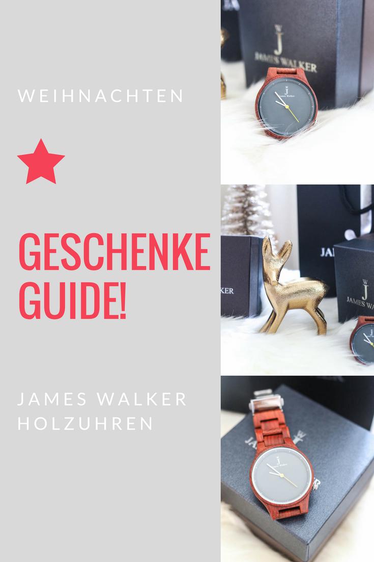 James Walker Holzuhren! Geschenkeguide Weihnachten: Wie wäre es mit einer zauberhaften Armbanduhr aus Sandelholz? + ein Gewinnspiel!