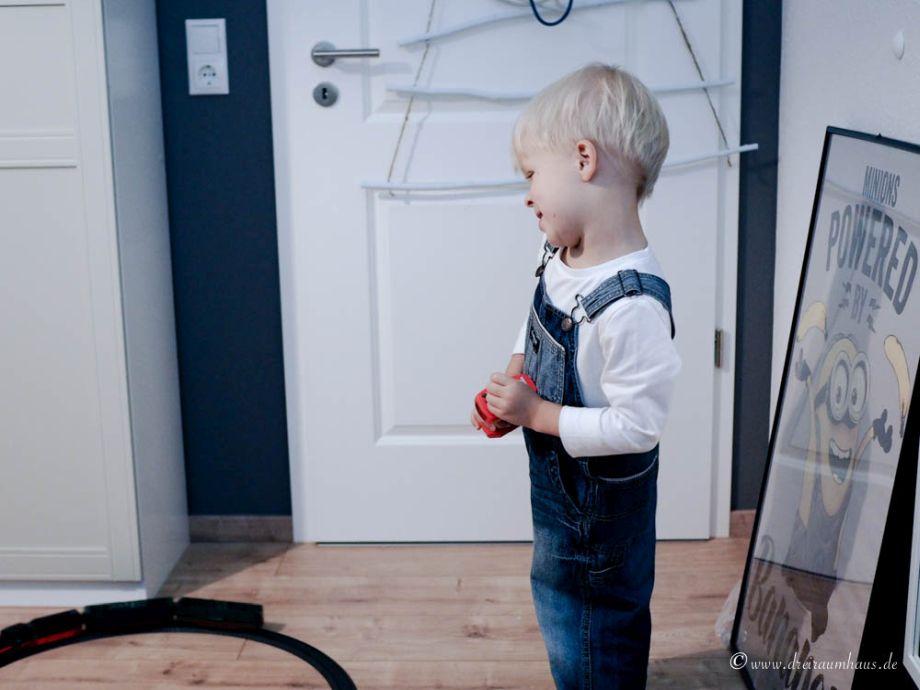 Wie man zu Weihnachten Kinderaugen leuchten lässt...Leo testet die Spielzeugeisenbahn von Märklin my World! Geschenkideen für Weihnachten!