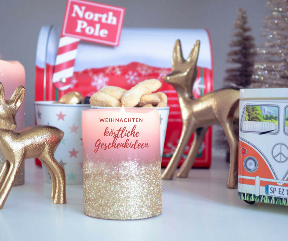 Köstliche Leckereien in nostalgischen Dosen…zauberhafte Geschenkideen für das Weihnachtsfest!