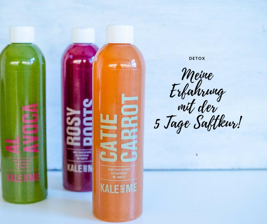 Motivation für Frauen: Meine Erfahrungen mit der 5 Tage Saftkur von Kale and Me!