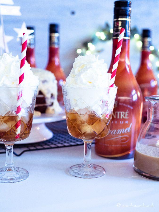 Wer zur Hölle braucht ein Sättigungsgefühl, wenn er Schokokuchen haben kann? Ein Schokokuchen Rezept mit Buttercreme Frosting und Chantré Caramel Liqueur!