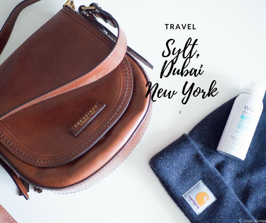 Reisemonat Februar und mein Beautygepäck für die Luft mit Benefit, Wohlderma & Mixa!
