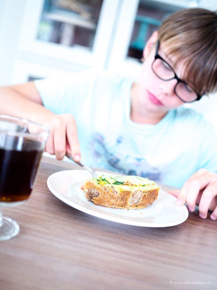 Bunte Gemüsequiche - Ein schnelles, gesundes Rezept für die ganze Familie!