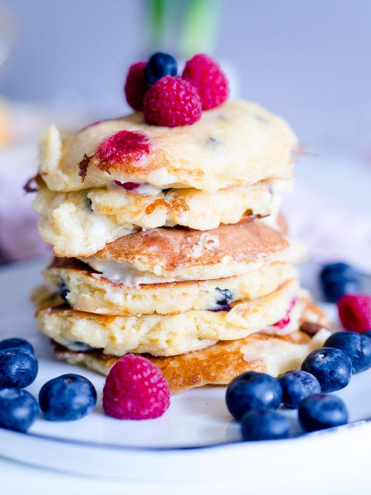 Das leckerste Rezept für absolut himmlische Protein-Pancakes! Mit dem ProSence Active Smoothie Pulver von NOWEDA FÜR MICH!