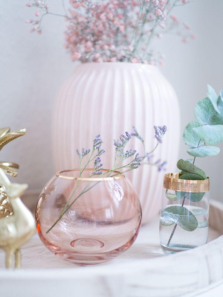 Dekosamstag Dekoration Von Bloomingville In Gold Und Rosa