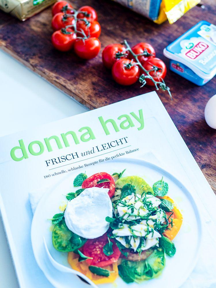 Schnell, leicht, gesund - Ein Rezept für Polenta Quiche mit Tomaten und Salat!